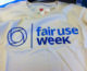 photo of Fair Use Week t-shirt