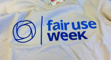 photo of Fair Use Week t-shirt